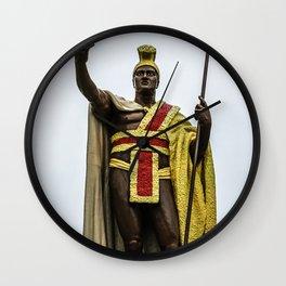King Kamehameha Wall Clock