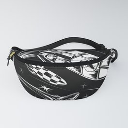 The Race into Space   Aliens, Rockets & Galaxies Fanny Pack