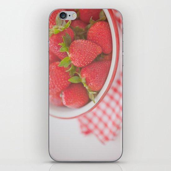 Starwberries iPhone & iPod Skin