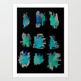 160122 Summer Shadows #67 Art Print