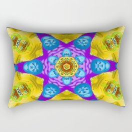Resurrect Mandala 8 Rectangular Pillow