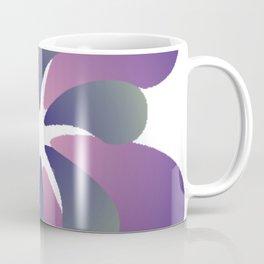 Purple ombre flower spiral Coffee Mug