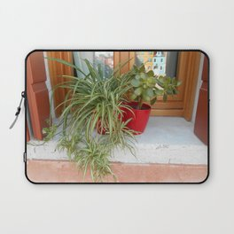 House Plants in Burano Laptop Sleeve