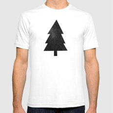 Black Forest White Mens Fitted Tee SMALL