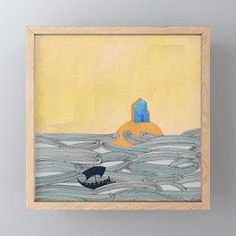 Island Framed Mini Art Print