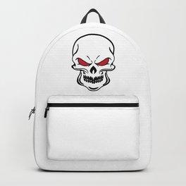 Halloween Funny Skull Skeleton Scary Face Spooky Cartoon Backpack