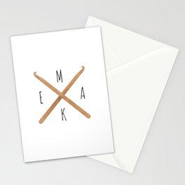MAKE  |  Crochet Hooks Stationery Cards