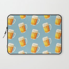 Ice Cold Beer Pattern Laptop Sleeve