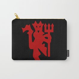 The Red Devil Logo Carry-All Pouch