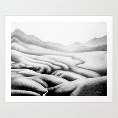 Gouland Downs 1 Art Print
