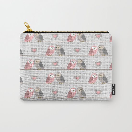 Owls in ♥ Carry-All Pouch