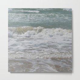 Loving the Waves number 4 Metal Print