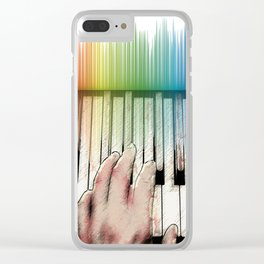 From keyboard to keyboard Clear iPhone Case