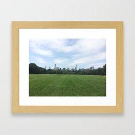 Central Park Grounds Framed Art Print