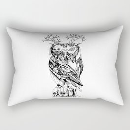 The Wonder Kingdom: The Owl of Life and Death Rectangular Pillow