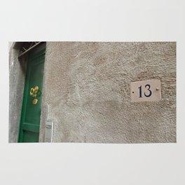 13 - Green Door Rug