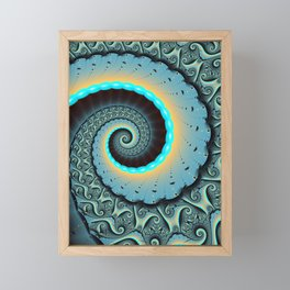 The Mother of All, Abstract Fractal Art Framed Mini Art Print