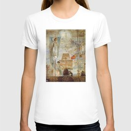 The Discovery of America - Christopher Columbus - Salvador Dali T-shirt