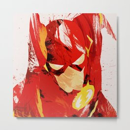 flash Metal Print