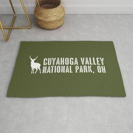 Deer: Cuyahoga Valley, Ohio Rug