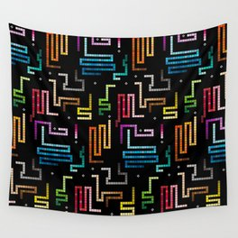 Snake mobile game Wall Tapestry