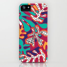 Matisse Pattern 009 iPhone Case
