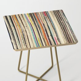 Record Collection Side Table