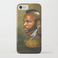 replaceface iPhone & iPod Cases featuring Mr. T - replaceface by replaceface