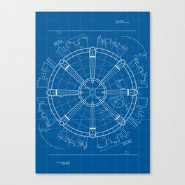 Project Midgar Canvas Print