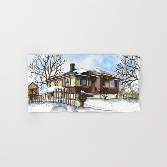 A Bungalow in the Country Hand & Bath Towel