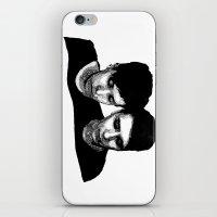 danisnotonfire iPhone & iPod Skins featuring AmazingPhil &Danisnotonfire by xzwillingex