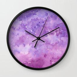 #78. STEPHANIE - Purple Ombre Wall Clock