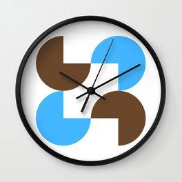 Round peg Wall Clock