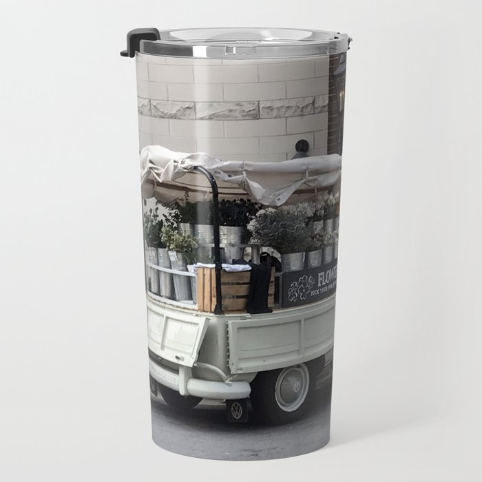 Flower Truck Travel Mug