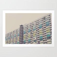 CHOI HUNG Art Print