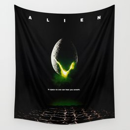 Alien Wall Tapestry