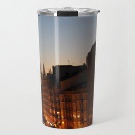 Twilight in Burgos, Spain Travel Mug