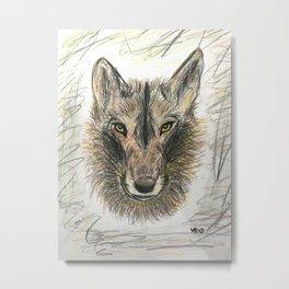 The Felix wolf Metal Print