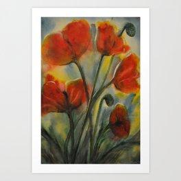 Field of Happy Art Print