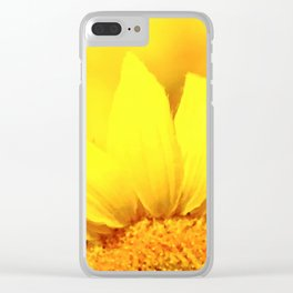 Sunflower love Flowers Flower Summer floral Clear iPhone Case