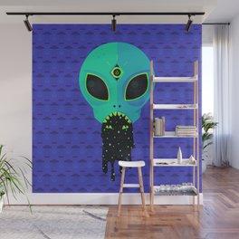 Alien Flu Wall Mural