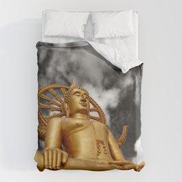 Big Buddha Thailand Duvet Cover
