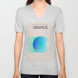 The Vaulted Sky of Uranus Unisex V-Neck