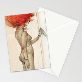 La mujer precipicio Stationery Cards