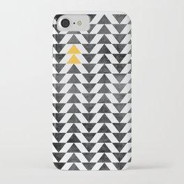 Triangle - Yellow II iPhone Case