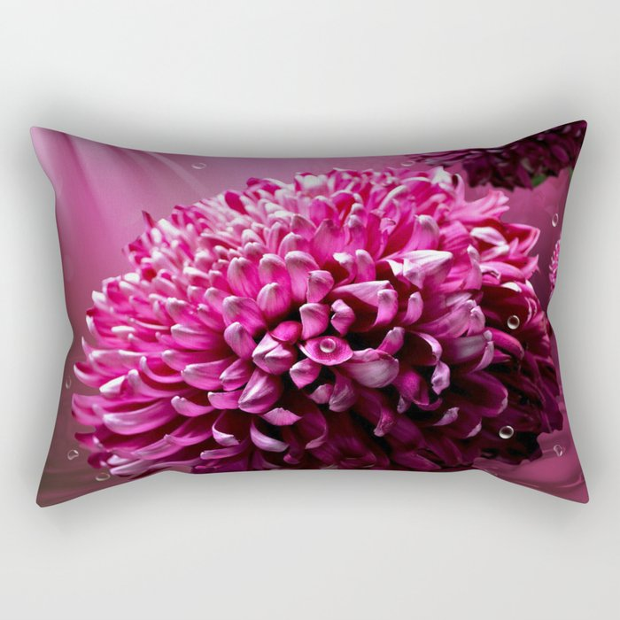 Majestic Flowers Rectangular Pillow