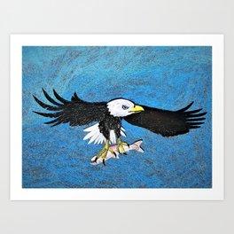 Regal Eagle Art Print