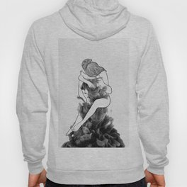 I find peace in your hug. Hoody