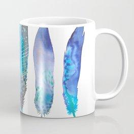 Feathers / Harmony in Blue Coffee Mug