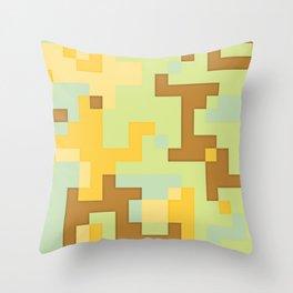 pixel 002 02 Throw Pillow